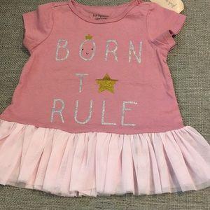 Born to Rule Tutu Shirt